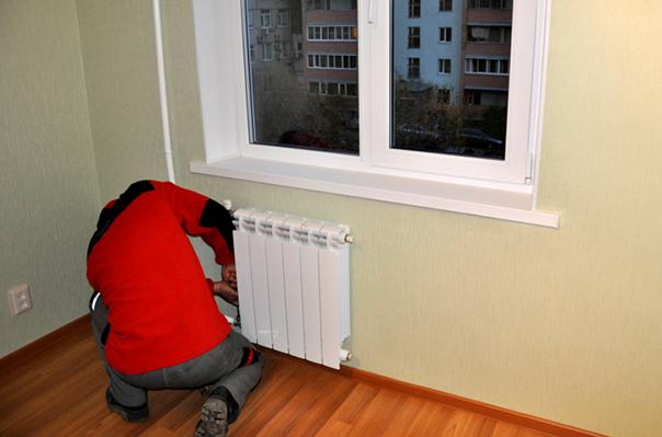 Установка радиаторов по низкой цене